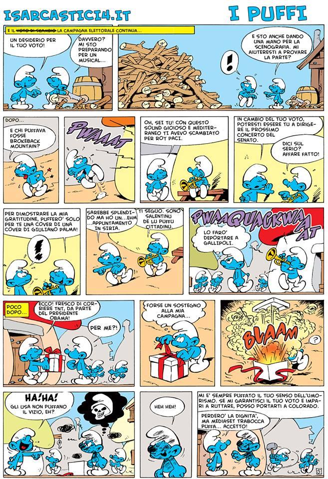 Peyo - I puffi / The Smurfs - pagina 03