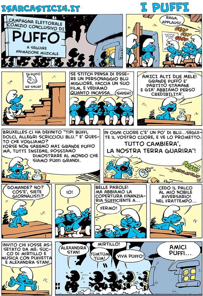 Peyo - I puffi / The Smurfs - pagina 04