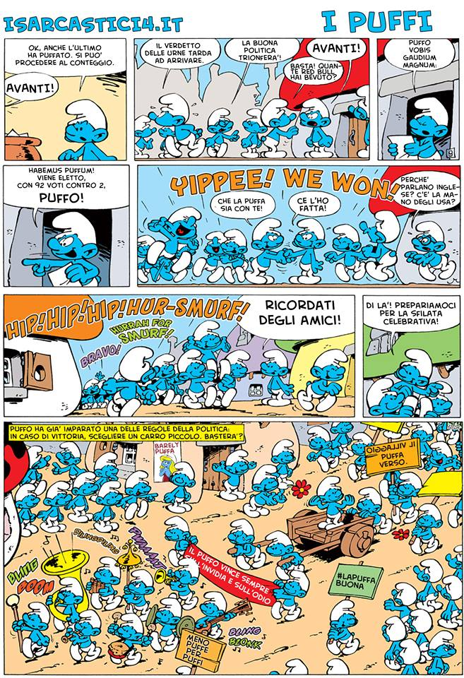 Peyo - I puffi / The Smurfs - pagina 06