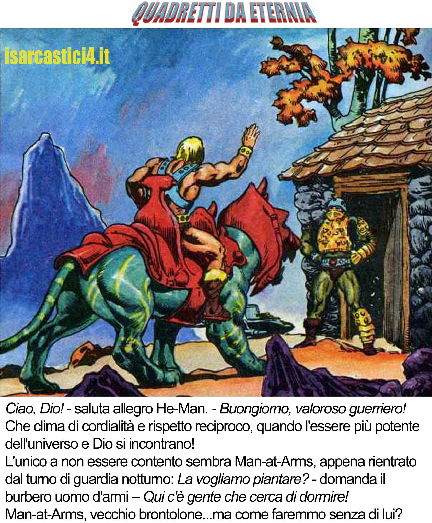 MOTU, Masters Of The Universe meme ita - Quadretti di Eternia