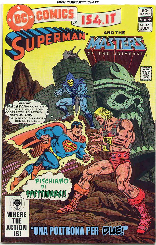 Superman e i MOTU, Masters Of The Universe meme ita - pagina 00 - copertina/cover