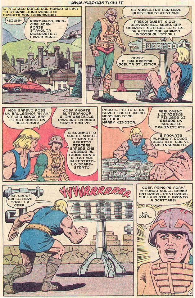 Superman e i MOTU, Masters Of The Universe meme ita - pagina 02