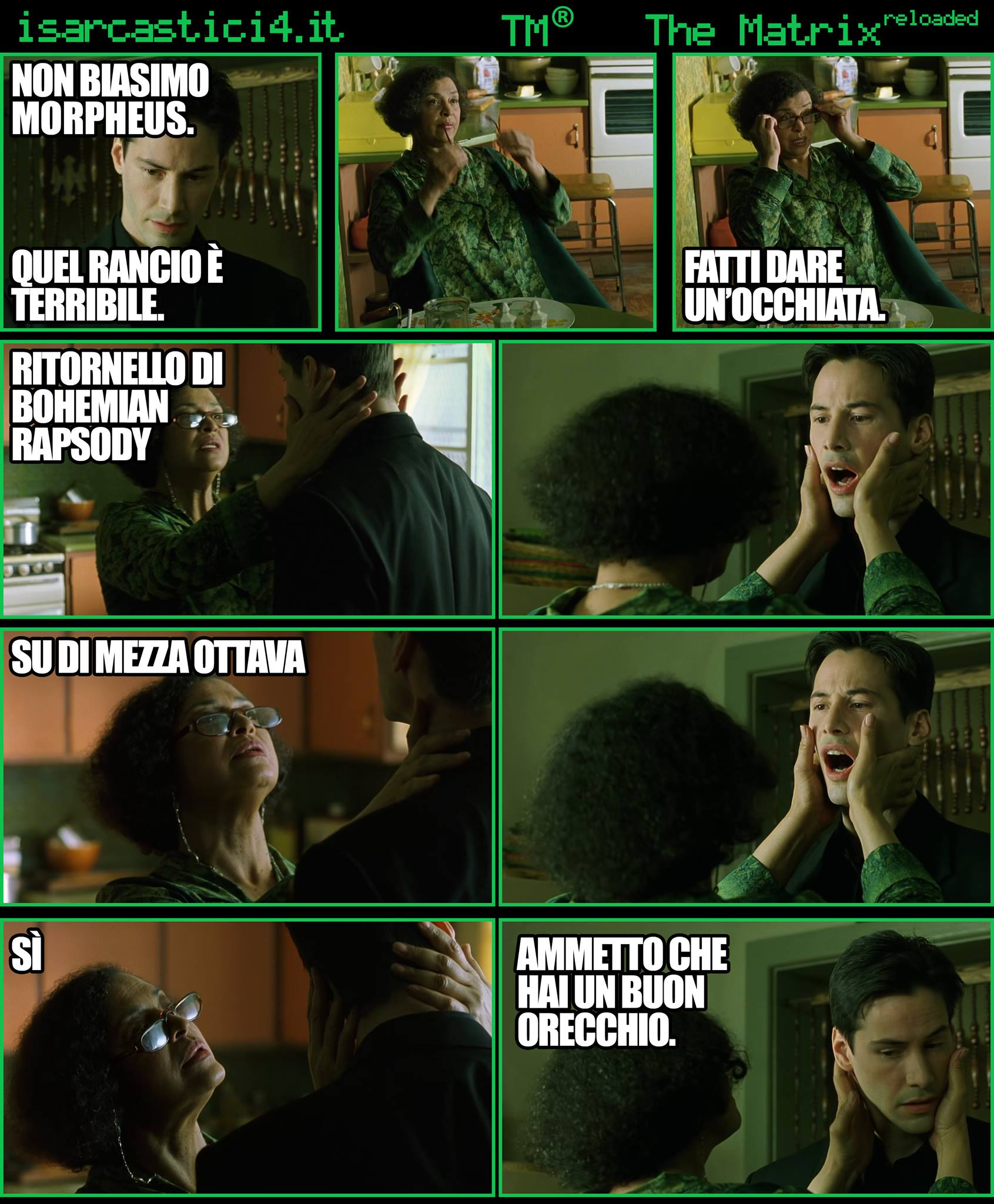 TMR - The Matrix Reloaded - La parodia a fumetti di Matrix