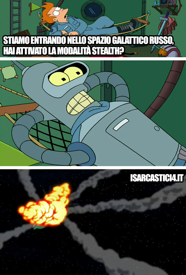 Futurama meme ita - Stealth
