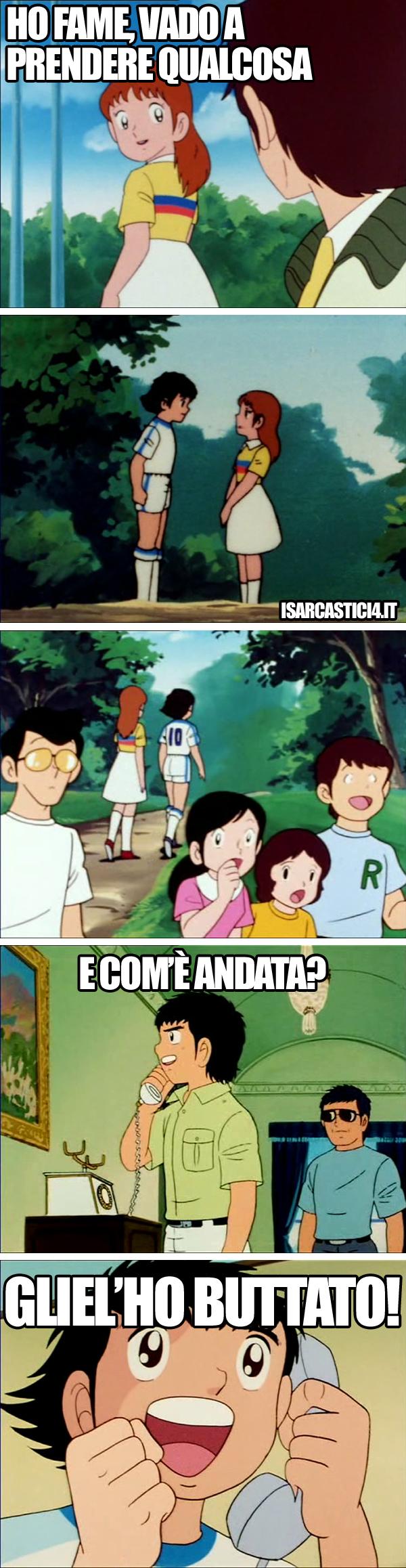Holly & Benji, Capitan Tsubasa meme ita - L'amore è una cosa semplice