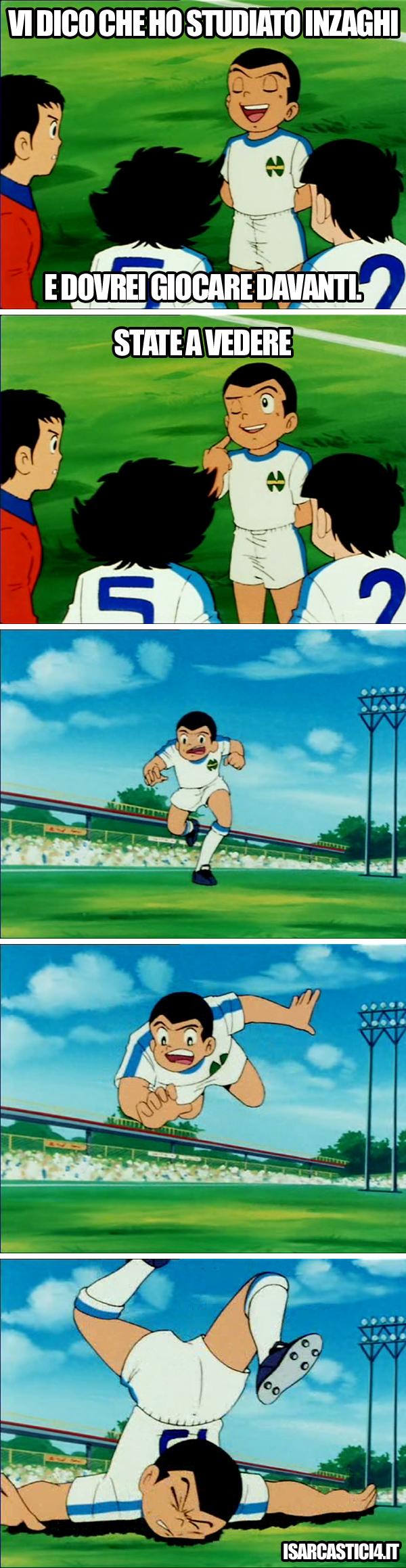 Holly & Benji, Capitan Tsubasa meme ita - Giallo
