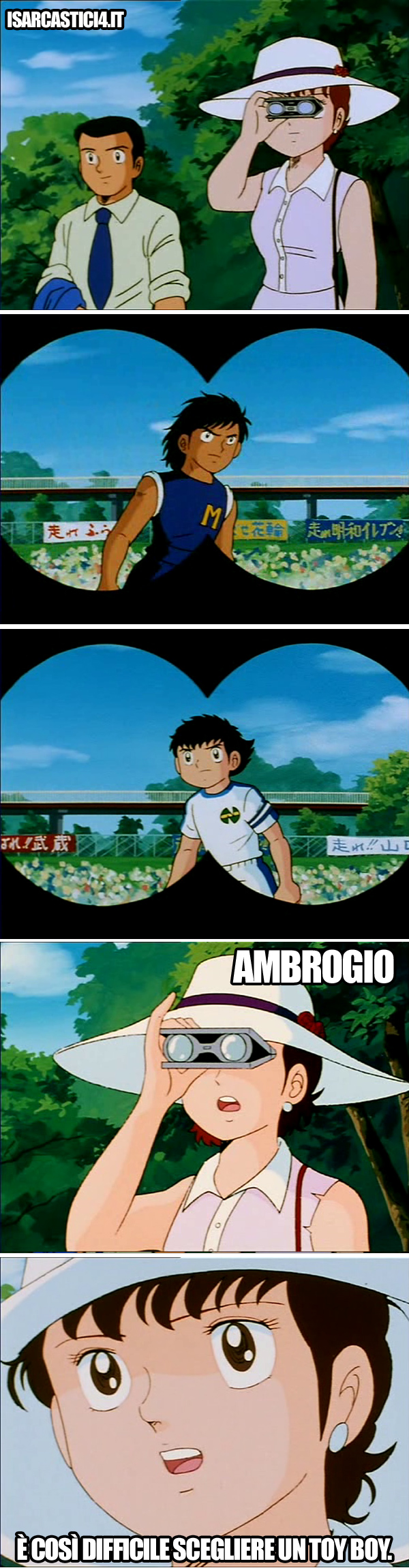 Holly & Benji, Capitan Tsubasa meme ita - First world problems