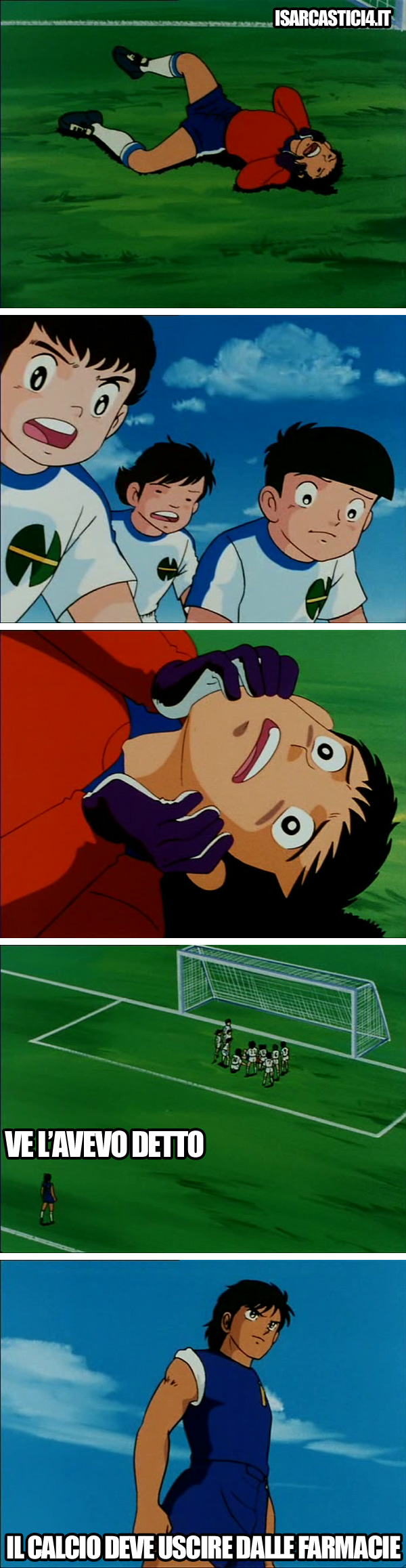 Holly & Benji, Capitan Tsubasa meme ita - Ve l'aveva detto.