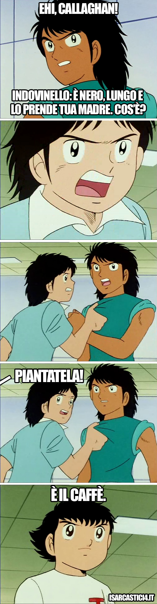 Holly & Benji, Capitan Tsubasa meme ita - Indovinello