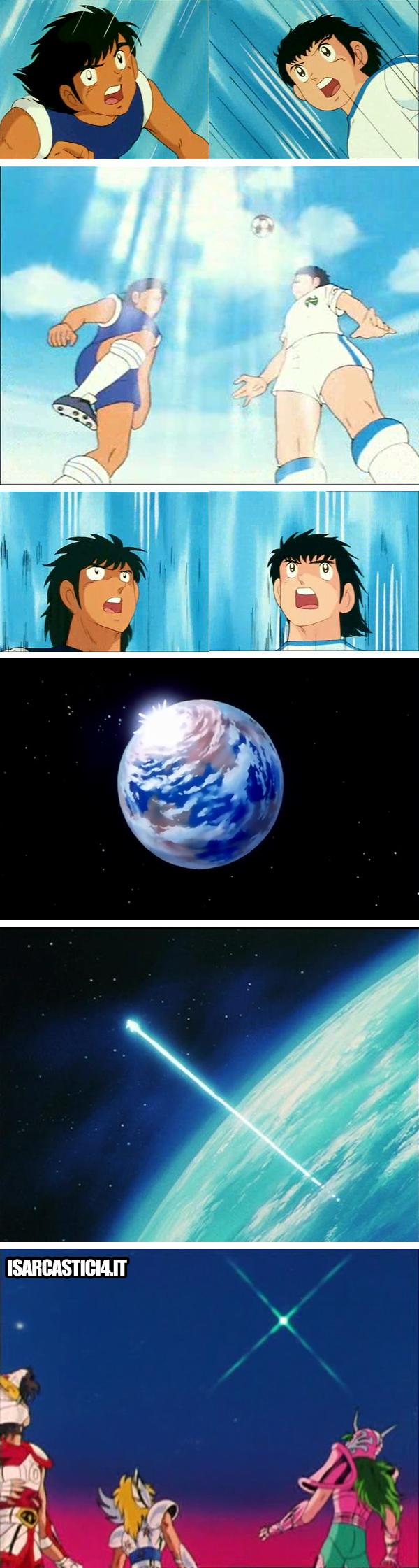 Holly & Benji, Capitan Tsubasa meme ita - Gioco aereo