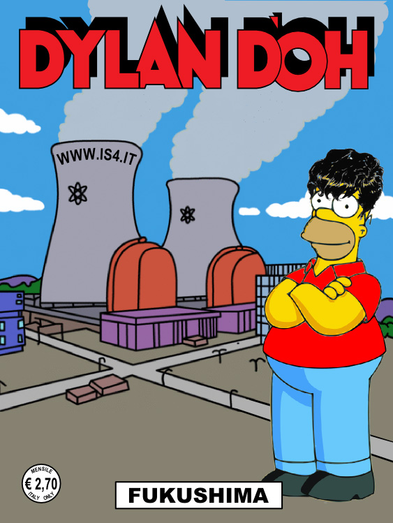 Dylan Dog - Homer Simpson - copertina
