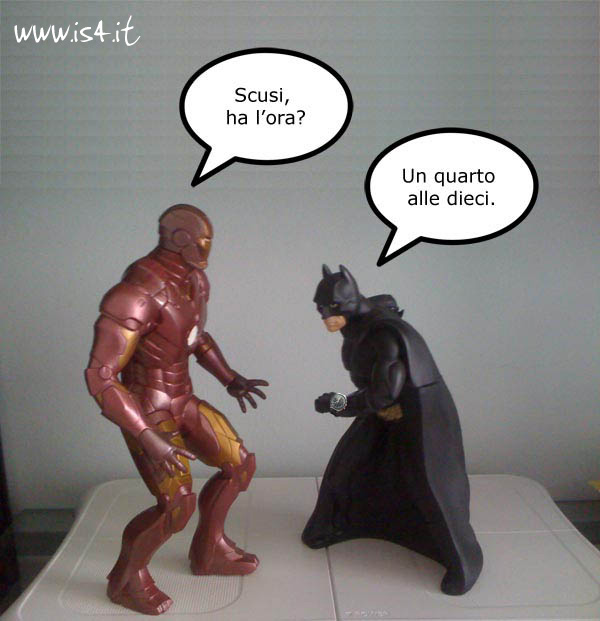 Ironman vs. Batman 1