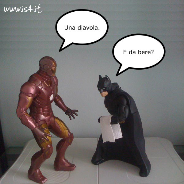 Ironman vs. Batman 2