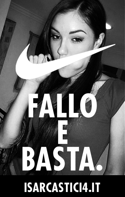 Just do it, fallo e basta - Sasha Grey