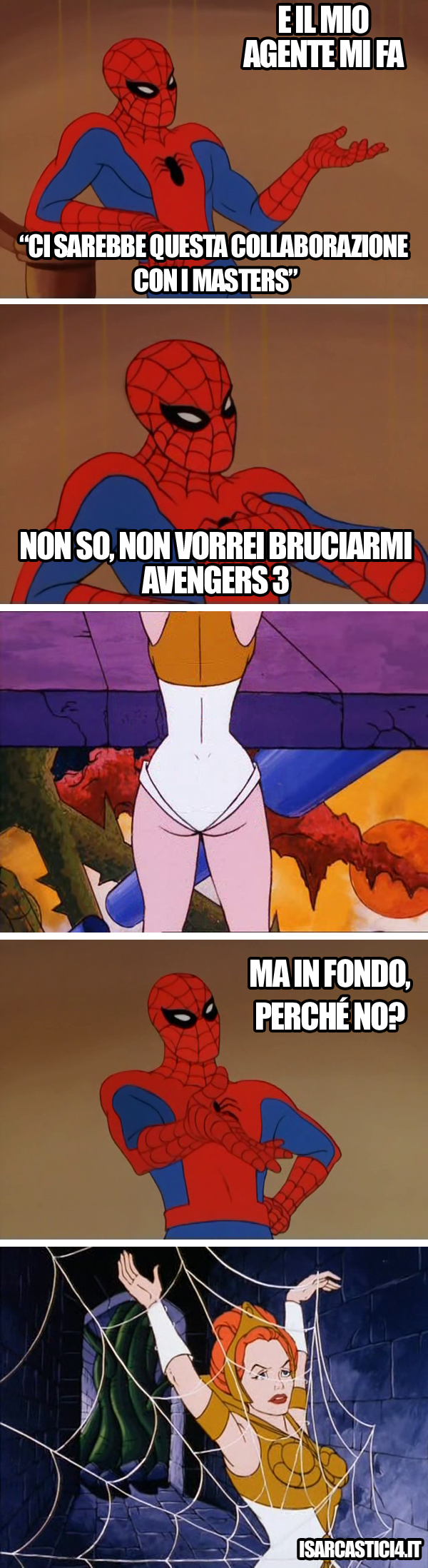 MOTU, Masters Of The Universe meme ita - Spider-Man
