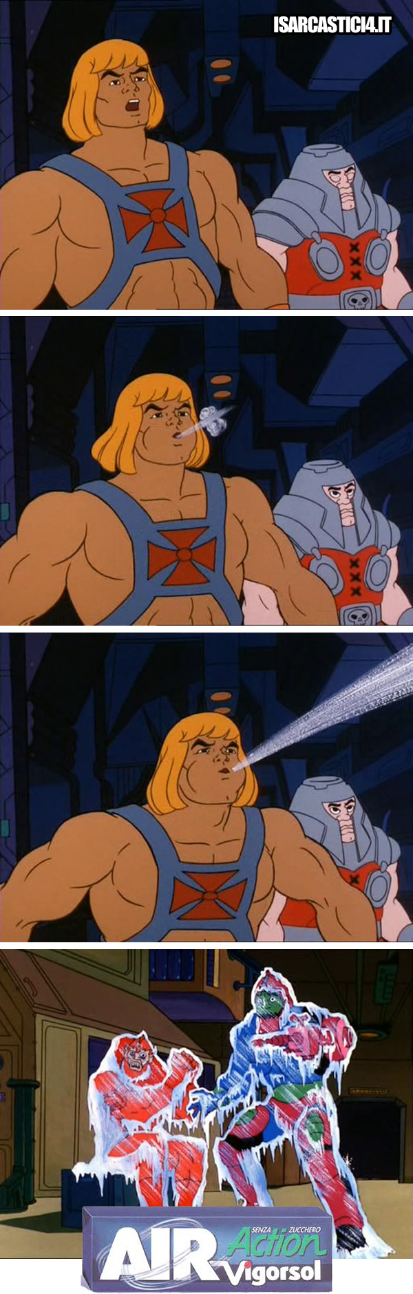 MOTU, Masters Of The Universe meme ita - Spot/02