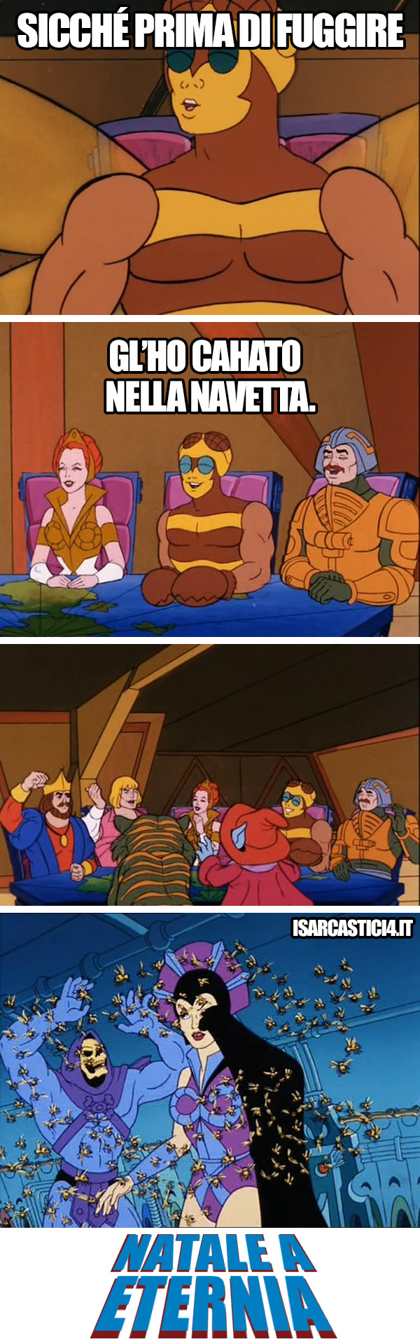 MOTU, Masters Of The Universe meme ita - I toscani hanno devastato questo paese
