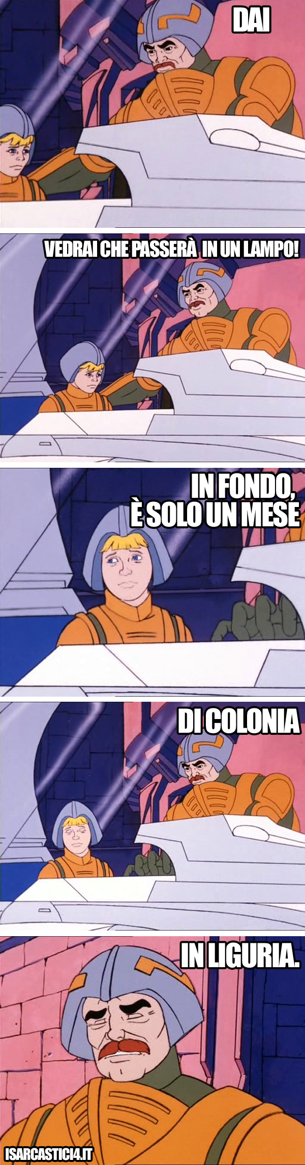 MOTU, Masters Of The Universe meme ita - Dai!
