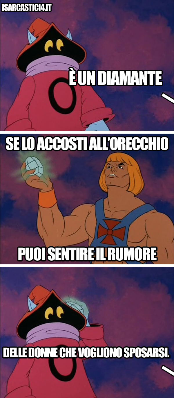 MOTU, Masters Of The Universe meme ita - Diamante