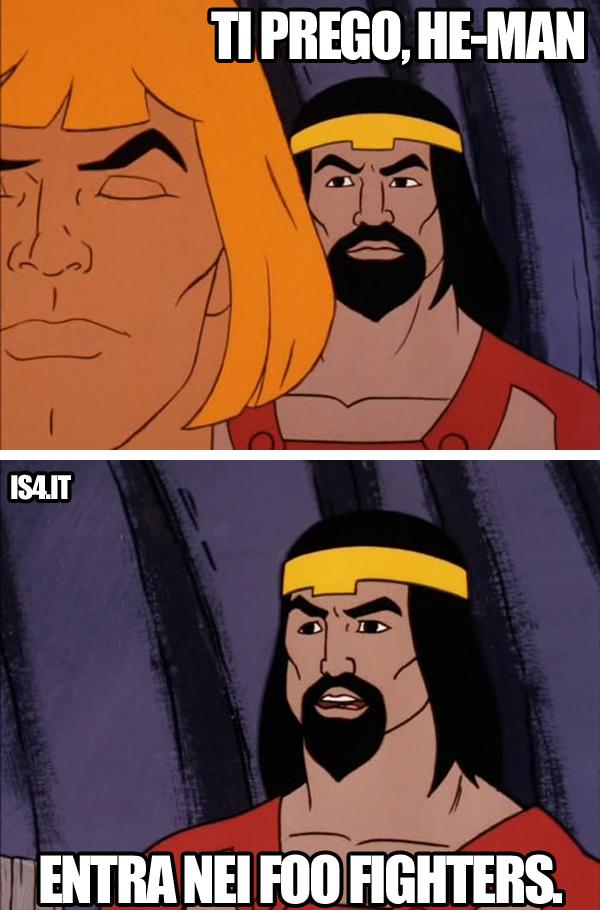 MOTU, Masters Of The Universe meme ita - My hero