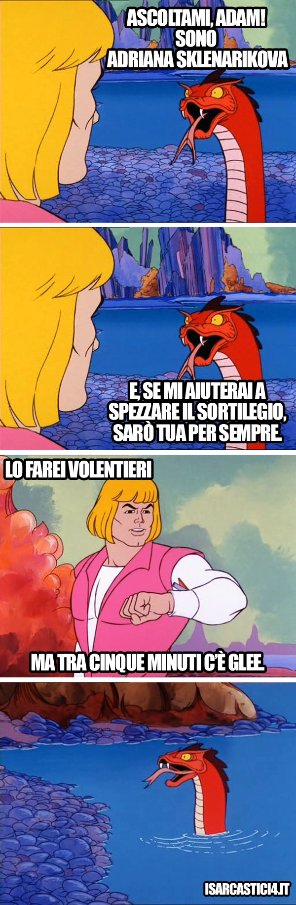 MOTU, Masters Of The Universe meme ita - Per sempre