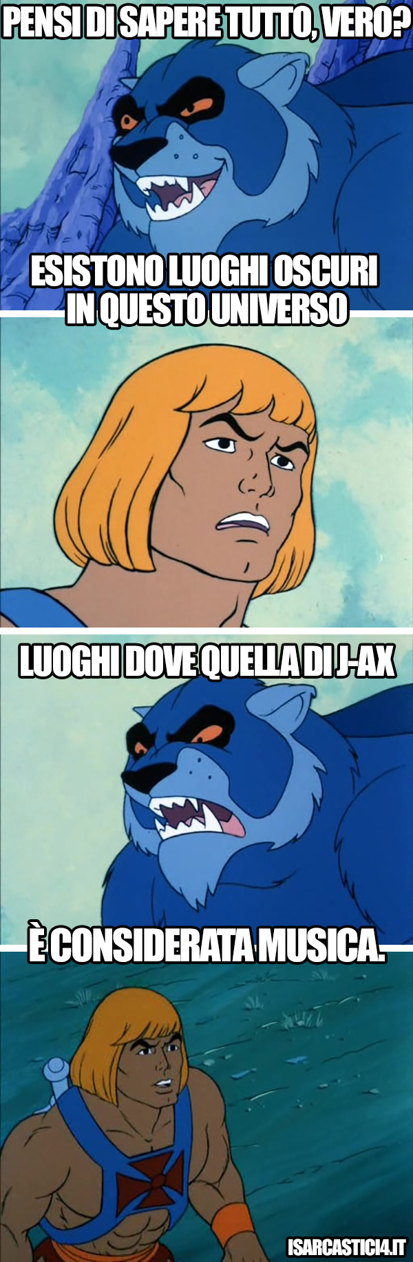 MOTU, Masters Of The Universe meme ita - Oscurità