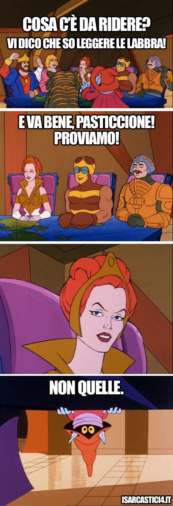 MOTU, Masters Of The Universe meme ita - Quando uno è mago...