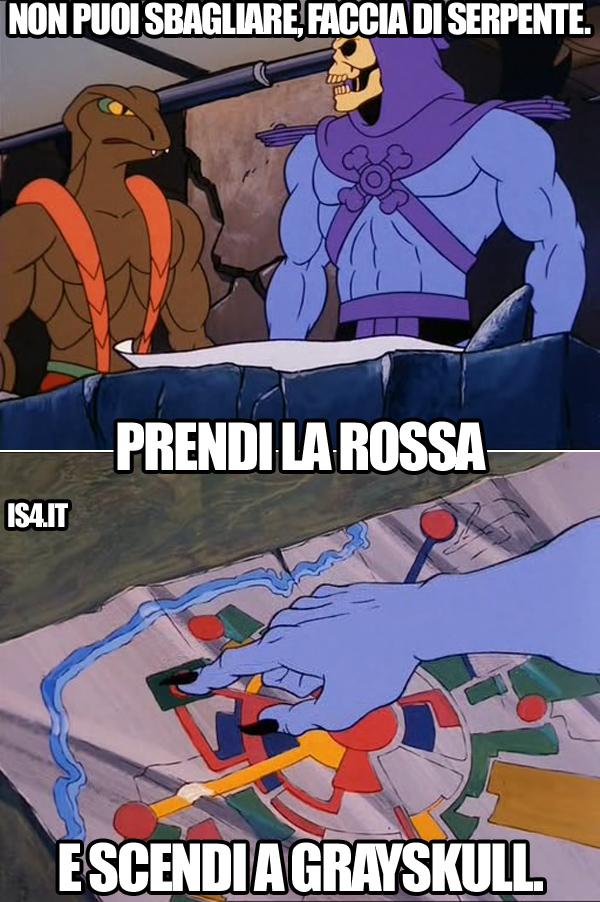 MOTU, Masters Of The Universe meme ita - Non puoi sbagliare