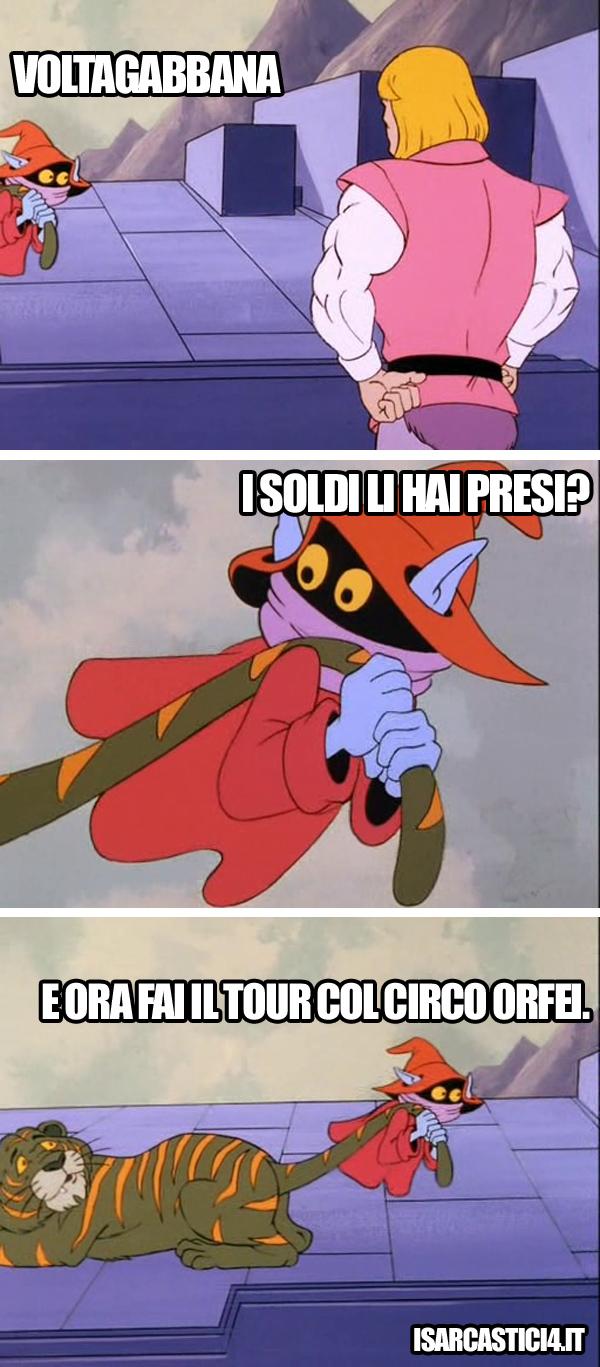 MOTU, Masters Of The Universe meme ita - Una sola parola