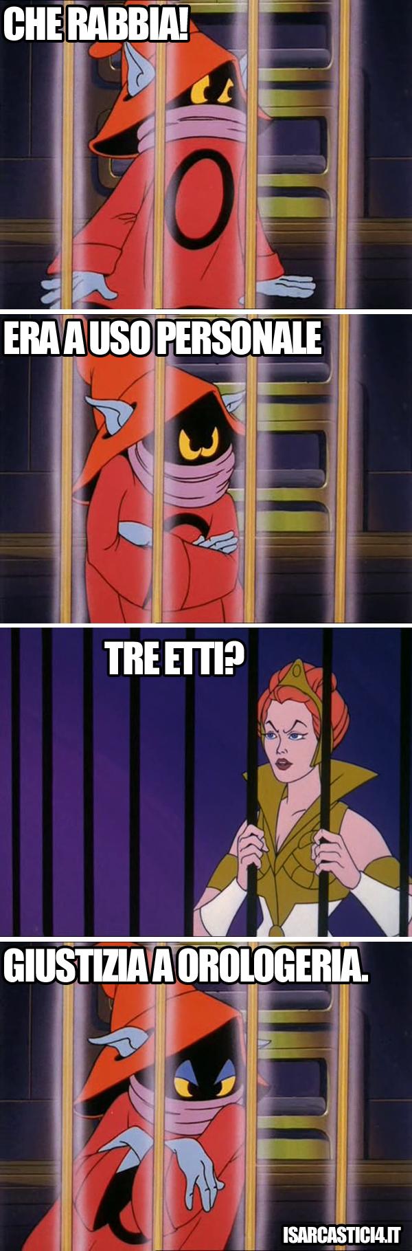 MOTU, Masters Of The Universe meme ita - Ad personam