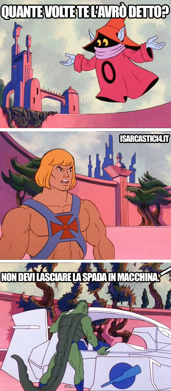MOTU, Masters Of The Universe meme ita - Microcriminalità
