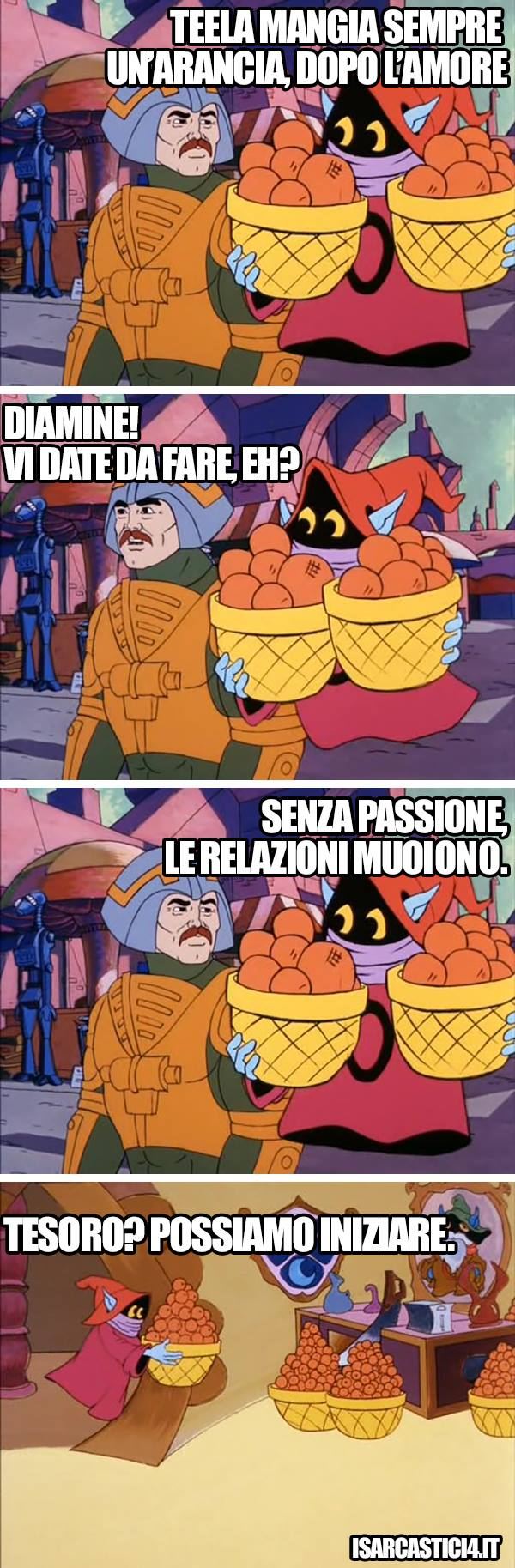 MOTU, Masters Of The Universe meme ita