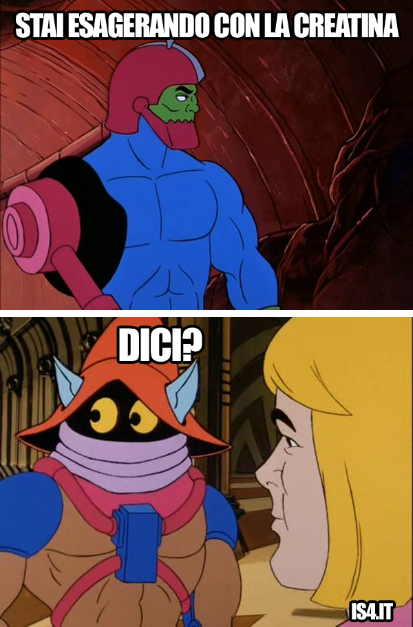 MOTU, Masters Of The Universe meme ita - Urka!