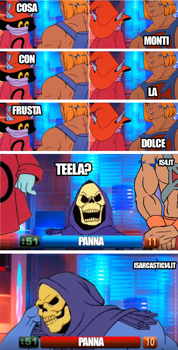 MOTU, Masters Of The Universe meme ita - Reazione a catena / Intesa vincente 24
