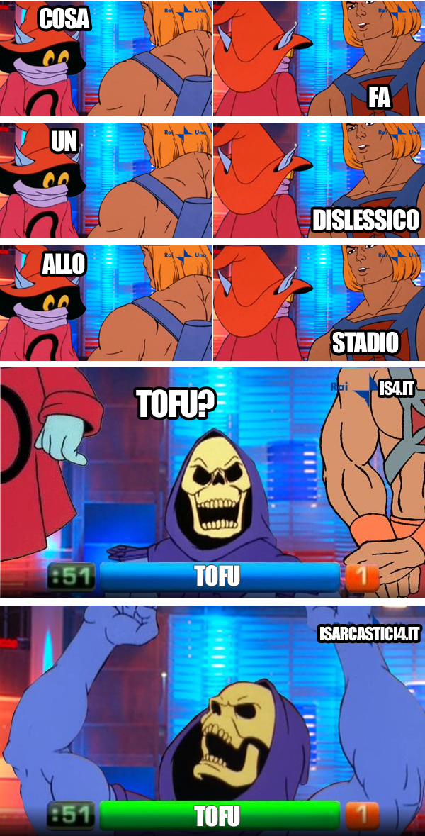 MOTU, Masters Of The Universe meme ita - Reazione catena, intesa vincente