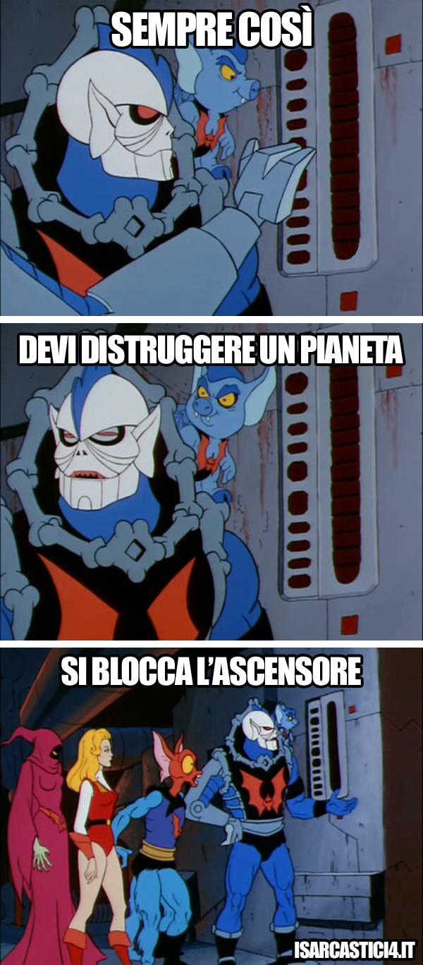 MOTU, Masters Of The Universe meme ita - Legge di Murphy
