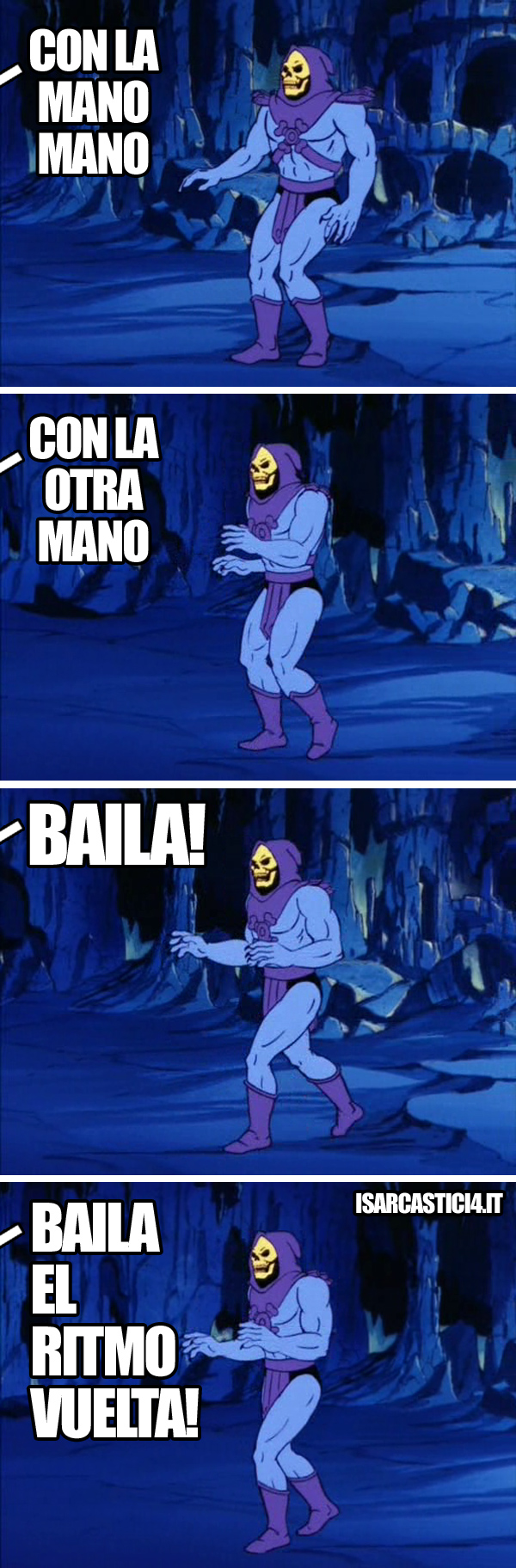 MOTU, Masters Of The Universe meme ita - Ritmo