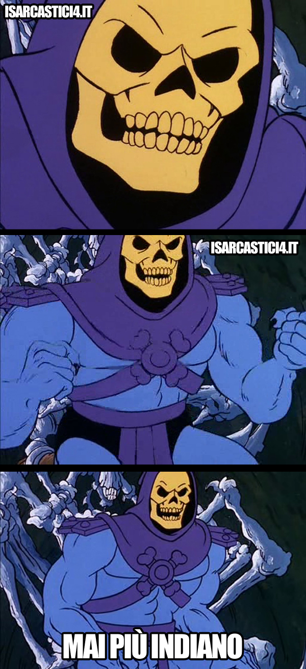 MOTU Masters Of The Universe meme ita - Skeletor e il ristorante