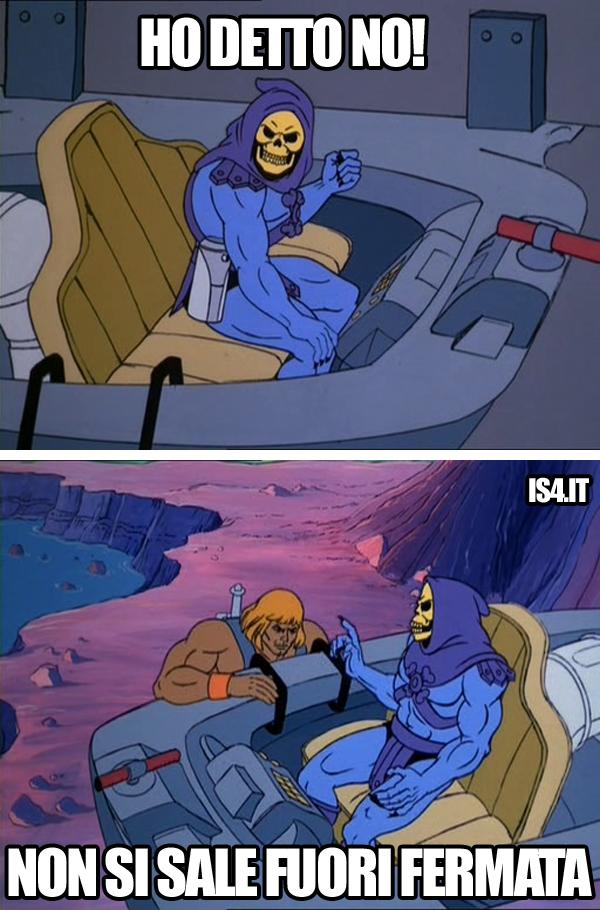 MOTU, Masters Of The Universe meme ita - Nessuna eccezione