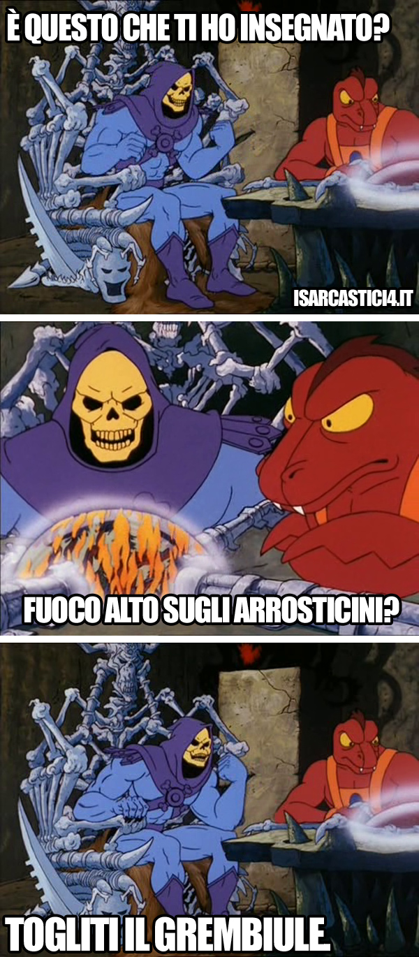 MOTU, Masters Of The Universe meme ita - Delusione