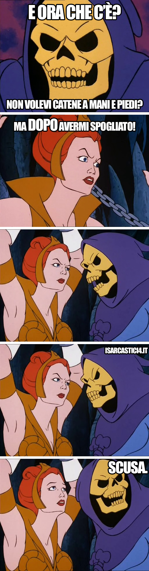 MOTU, Masters Of The Universe meme ita - Ordine