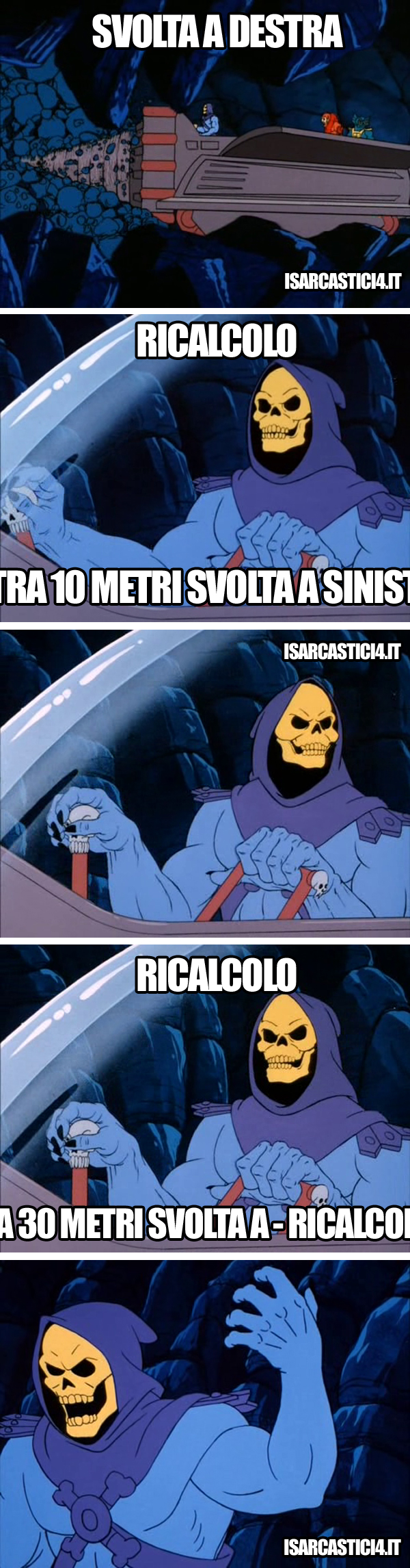 MOTU, Masters Of The Universe meme ita - Skeletor e il Tom Tom