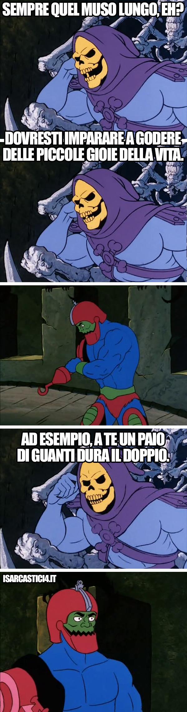 MOTU, Masters Of The Universe meme ita - Muso lungo