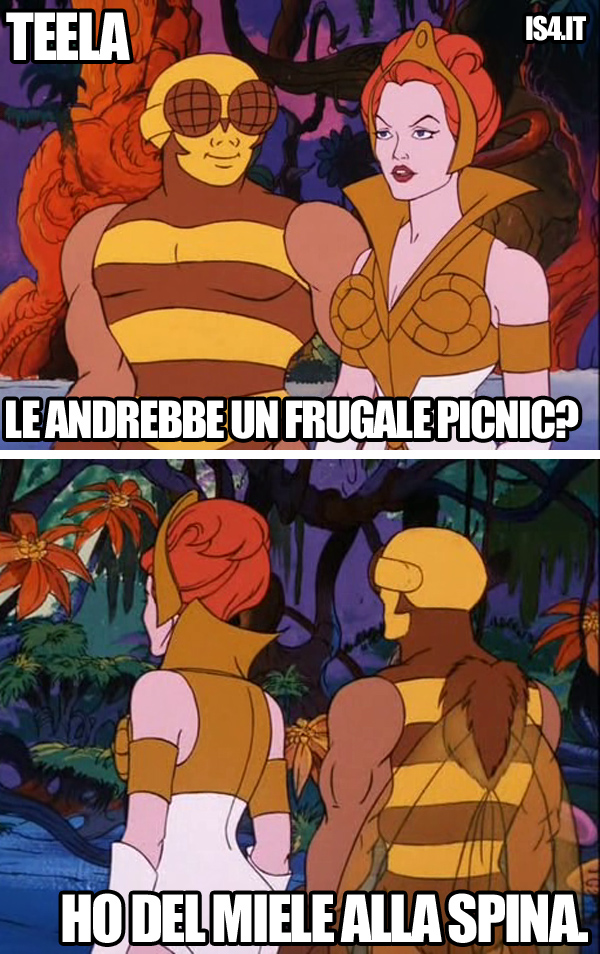 MOTU, Masters Of The Universe meme ita - Romanticismo/04