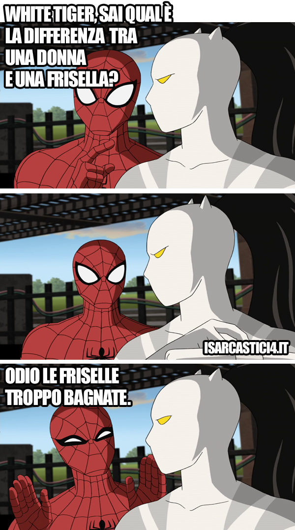 Ultimate Spider-Man animated series meme ita -  Differenza