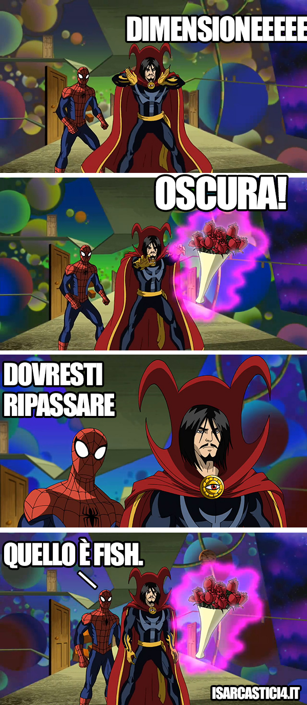 Ultimate Spider-Man animated series meme ita -   Tecnica