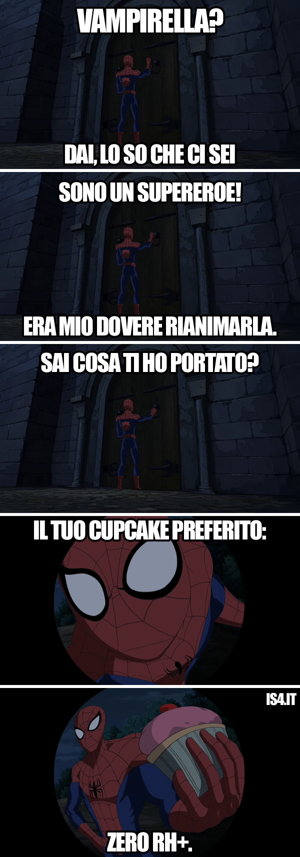 Ultimate Spider-Man animated series meme ita - Vampirella