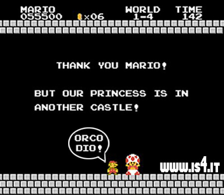 Super Mario Bros - Thank you Mario!