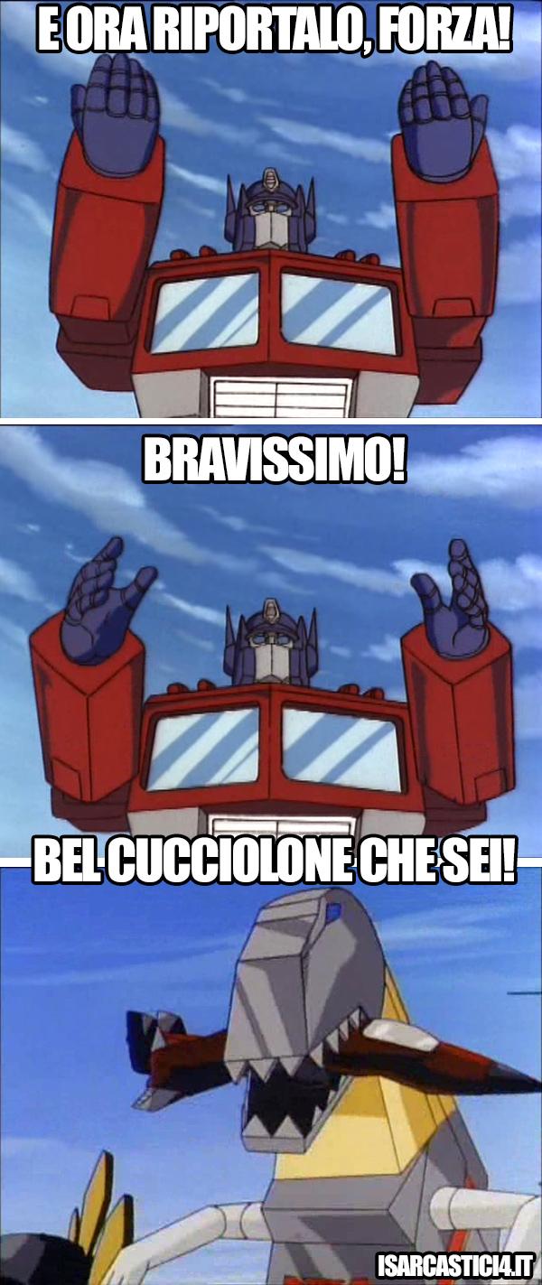 Transfomers meme ita - Forza!