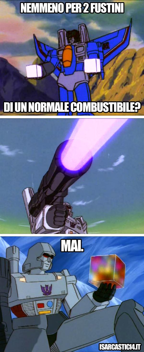 Transfomers meme ita - Nemmeno per?